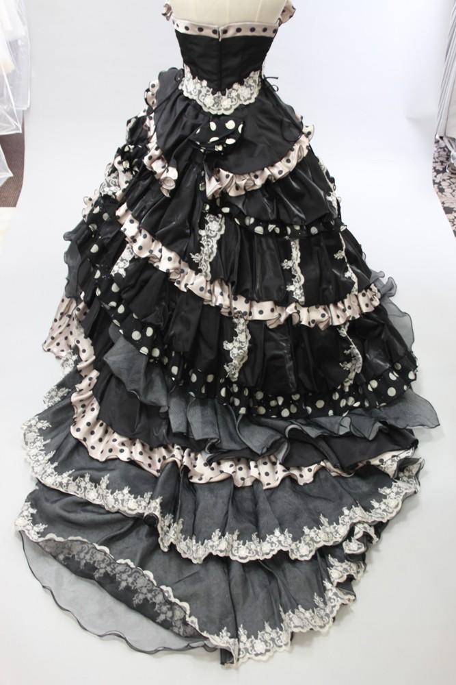 人気のブラック系ブランドカラードレス 7号・9号