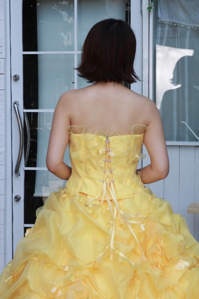 №94 イエロー カラードレス