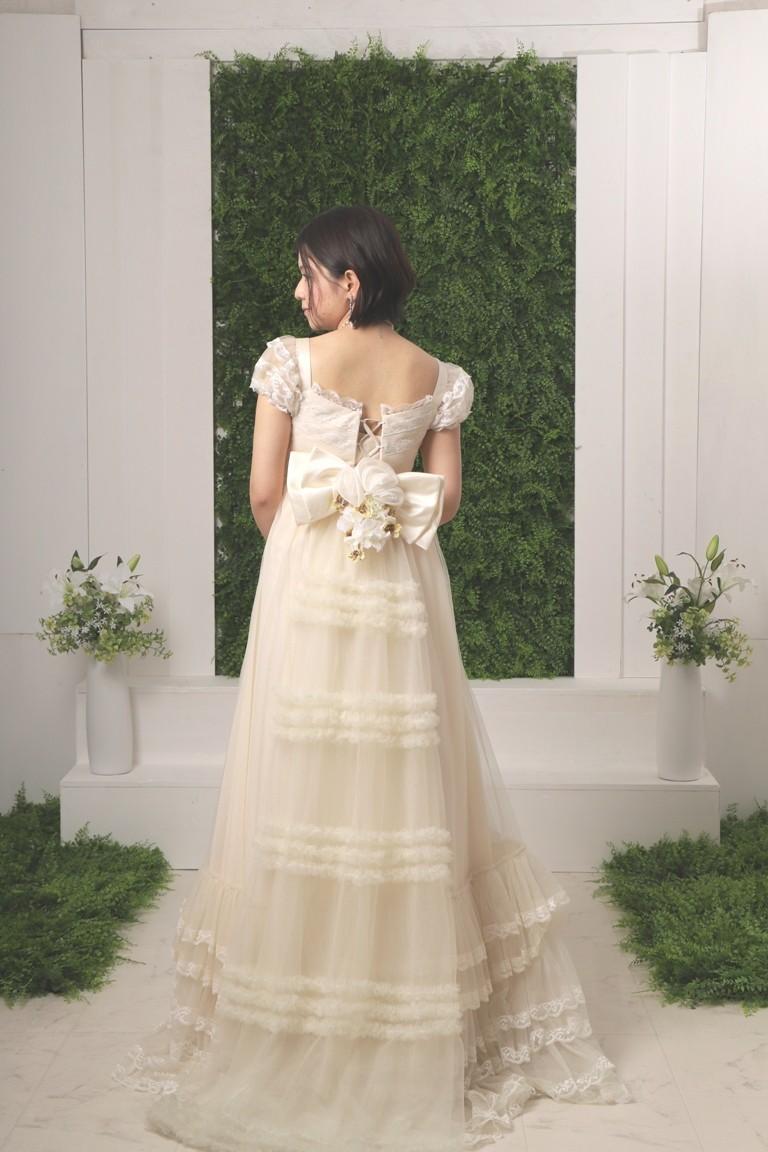 二次会ウエディングドレス 2110