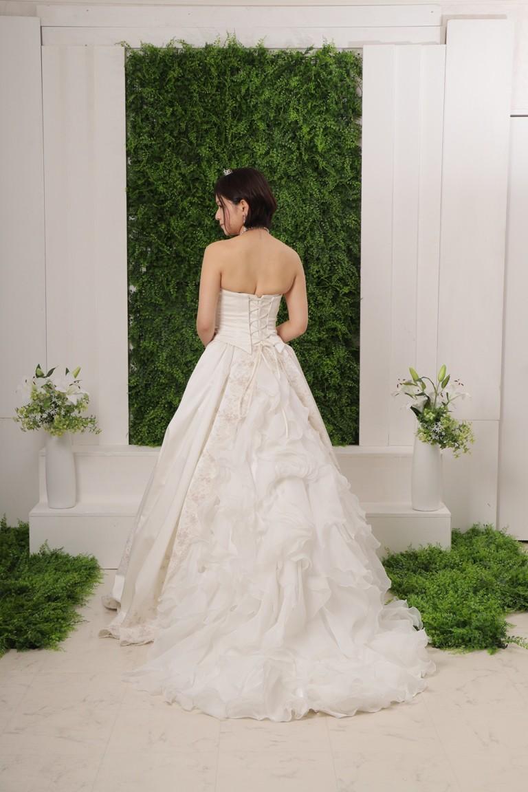 プレミアムウエディングドレス  604