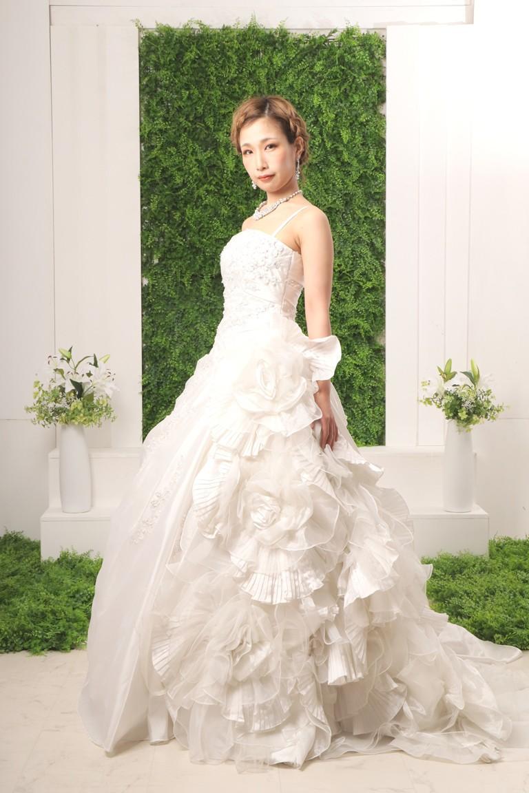 プレミアムウエディングドレス 2135