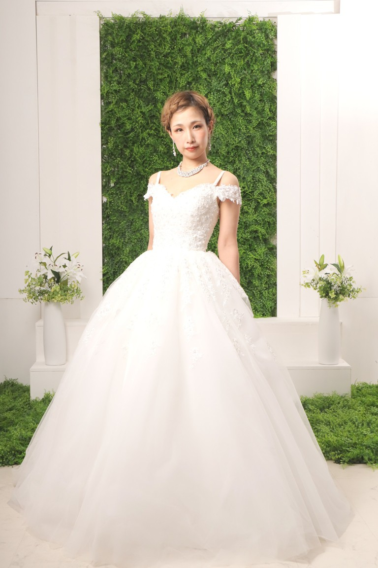 ウエディングドレス 2136