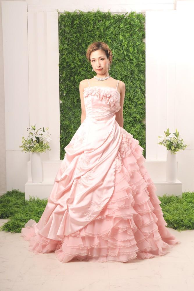 カラードレス 75 ライトピンク